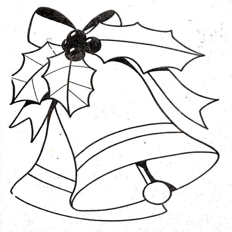 Dibujos Y Plantillas Para Imprimir Campanas Navidad Moldes ...