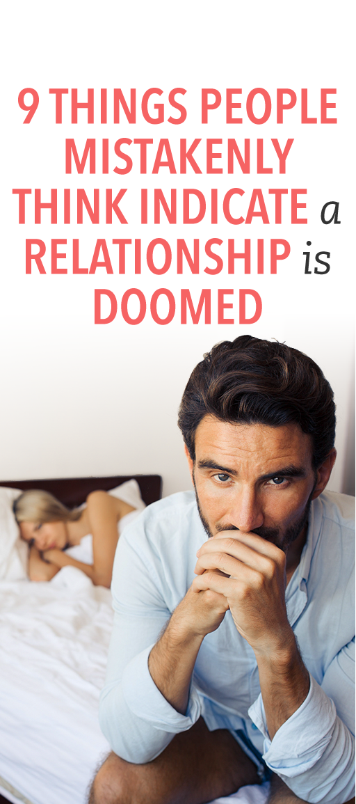 Signs of a doomed marriage