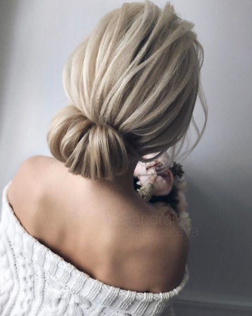 Wedding Hairstyle Prices: Rolled Up Bun By Alexandra Poslavskaya