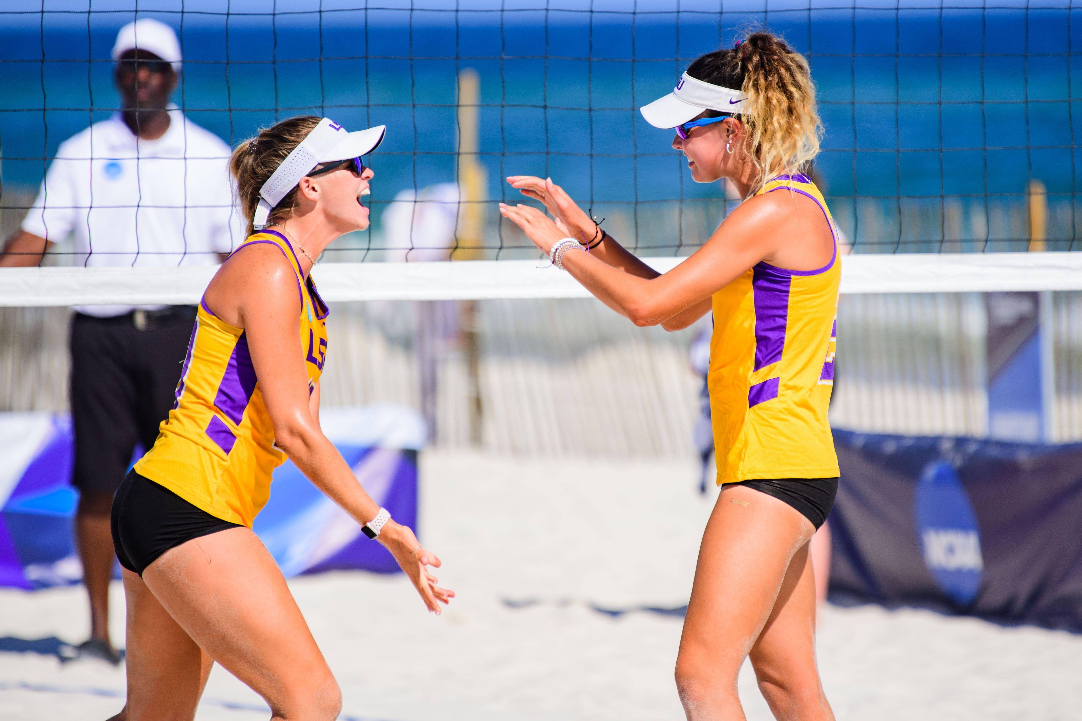 Tell It Like It Is Talk Show Lsu Beach Volleyball Team Defeats Stetson Advance Beach Volleyball Volleyball Team Lsu