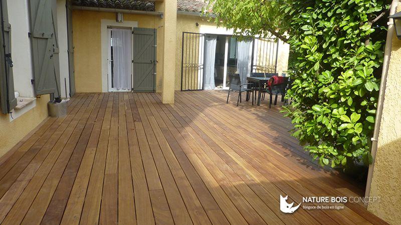 Belle pose du0027une terrasse bois exotique Cumaru Nos réalisations en