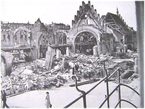les bombardements de strasbourg 1944 Ancienne Douane