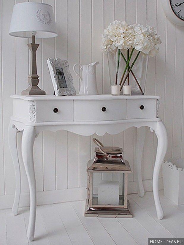 Прихожая в стиле прованс   Идеи домашнего декора, Дизайн ...