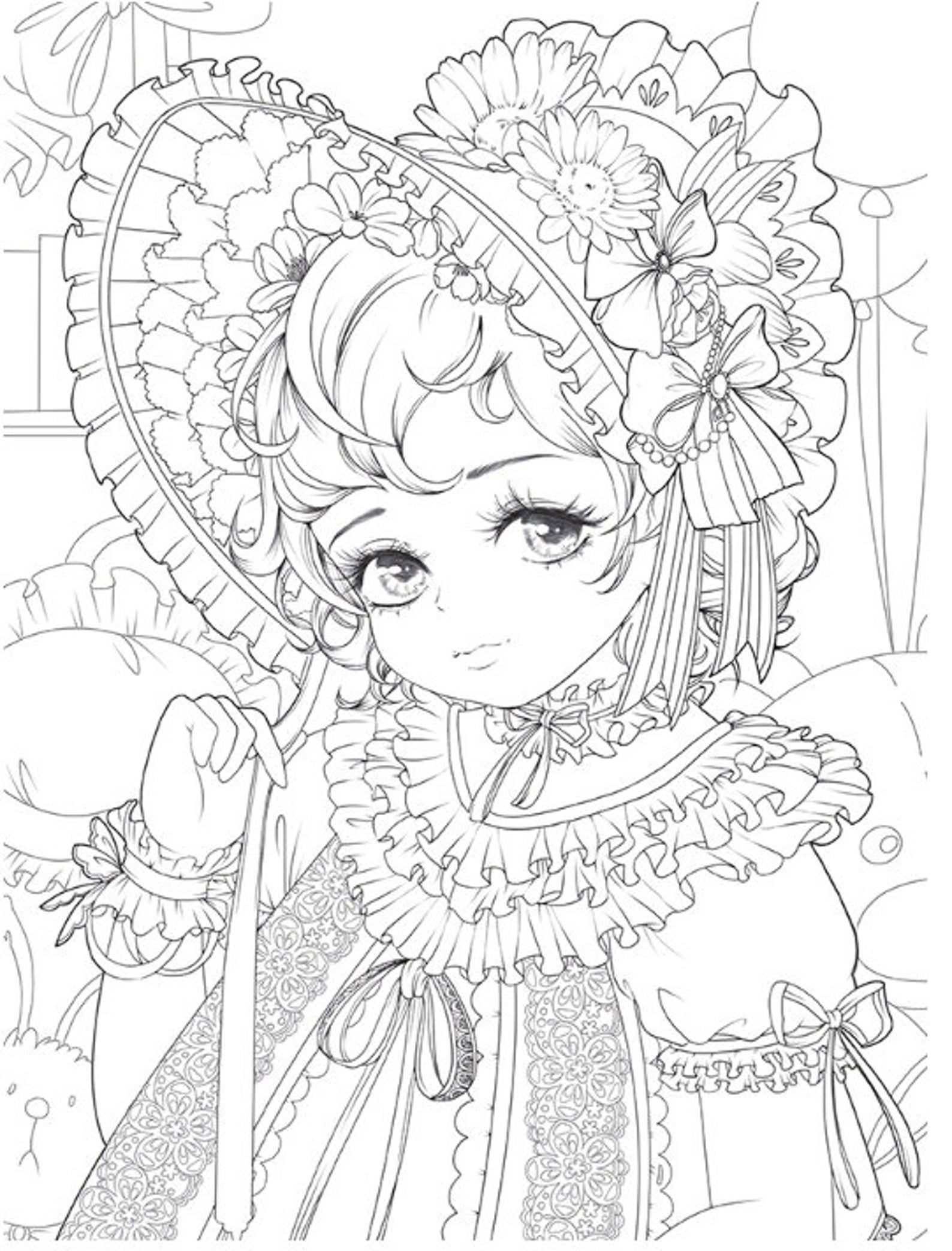 Masquerade Coloring Book Custome play Chinese coloring ...