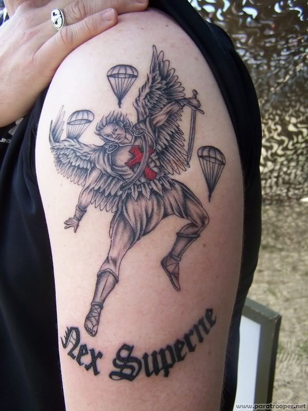 St Michael Tattoo Picture By Mortarman11c2p