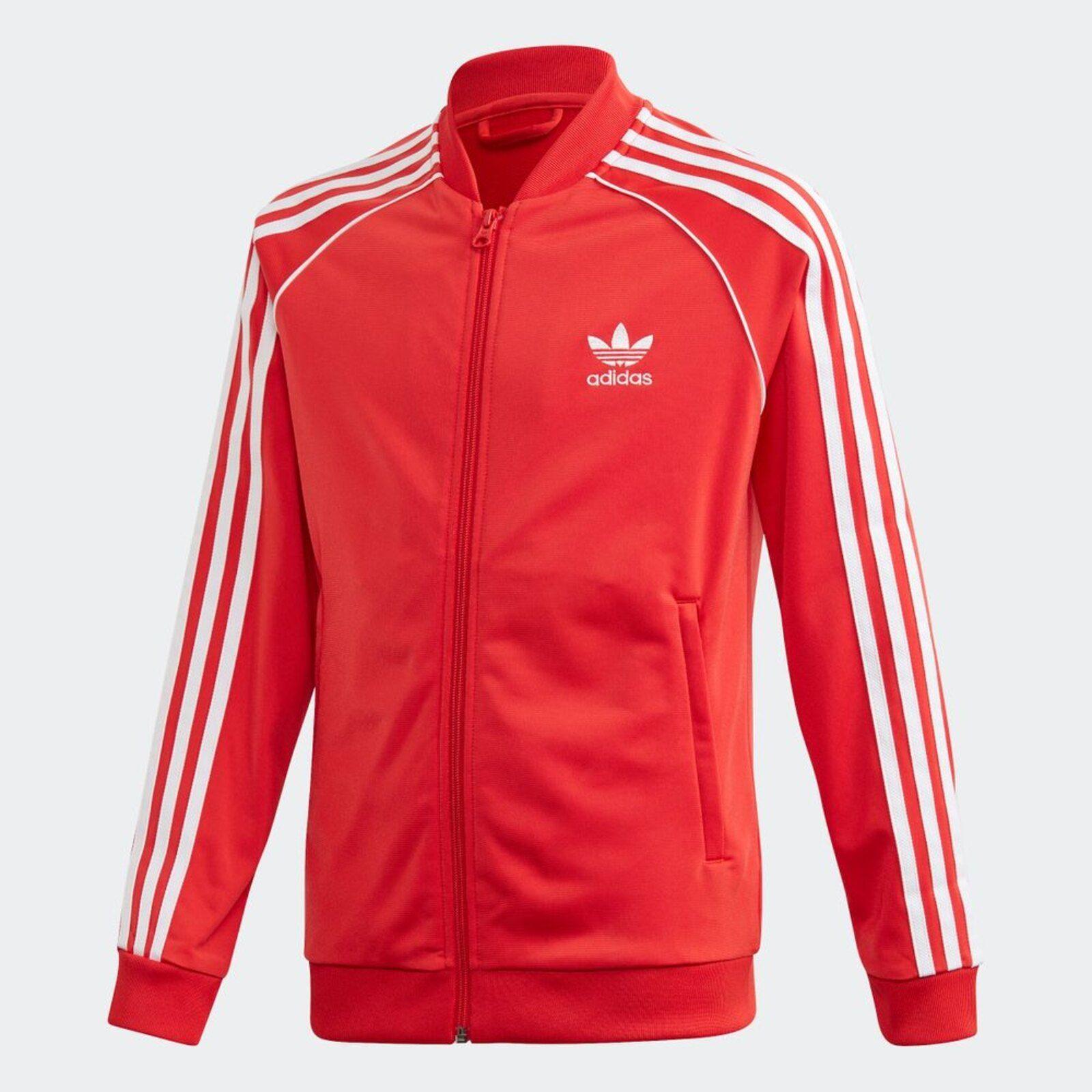 Casaco Jaqueta Adidas SST Vermelho em 2020 | Jaqueta adidas