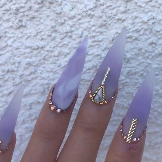 Photo of 53 Best Gorgeous And Stunning Blue Stiletto Nails Idea You May Love 💅 – Nail …