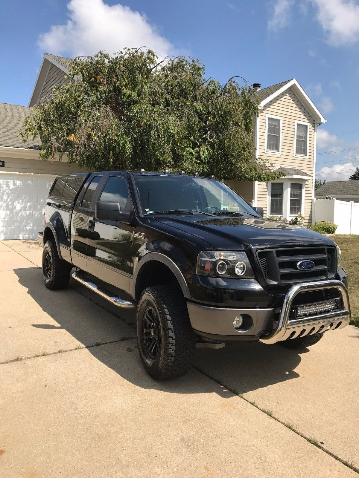 loaded 2008 Ford F 150 Flareside supercab lifted Trucks