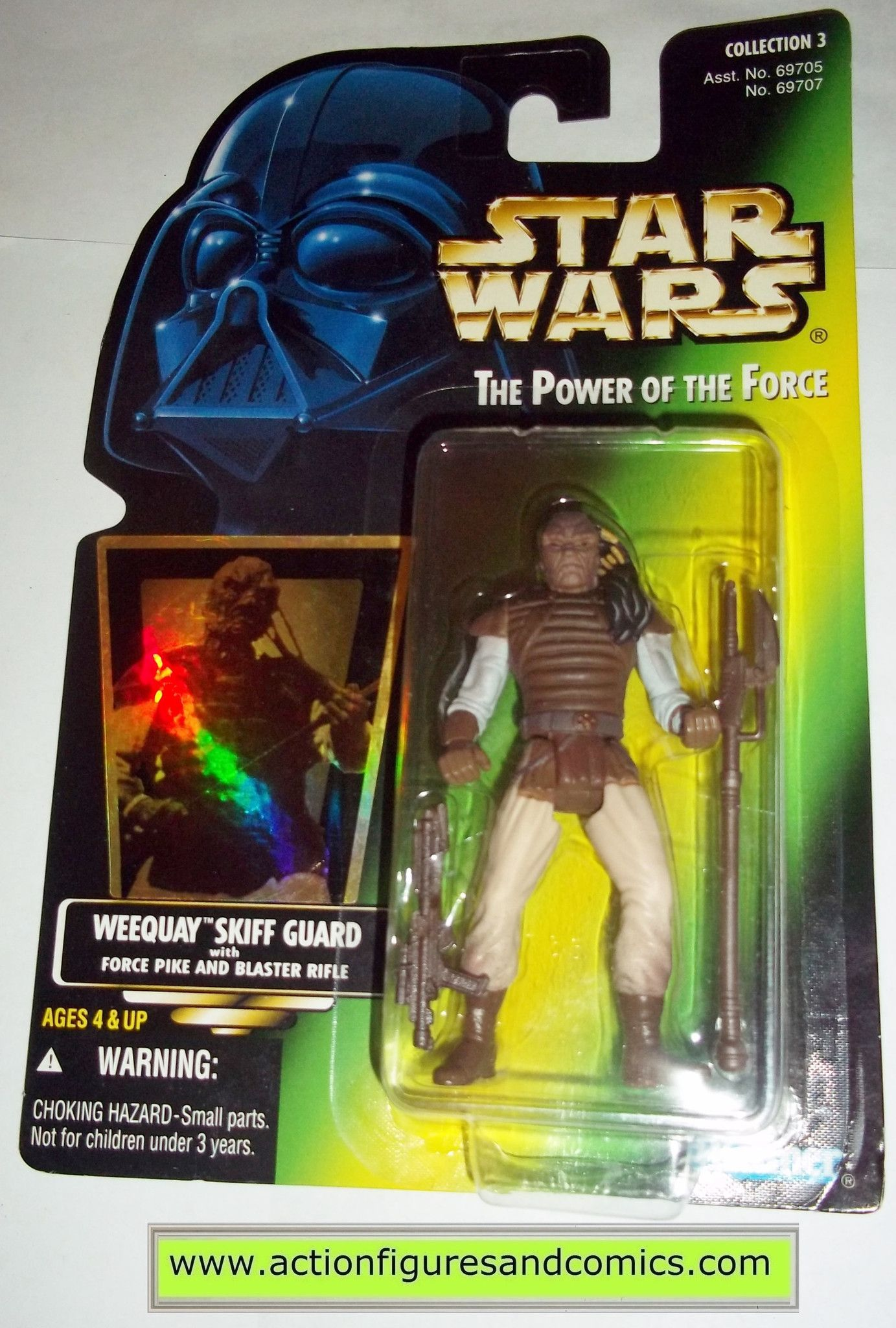 Star Wars Action Figures Weequay Power Of The Force 01 Collection 3