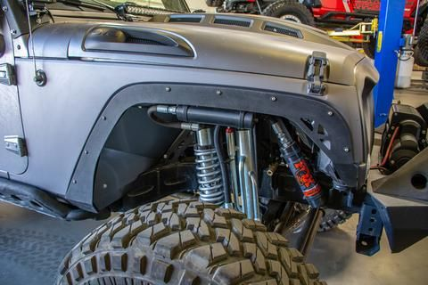 Jeep Jk Fender Delete Kit Front And Rear 2 Door And 4 Door Fendb