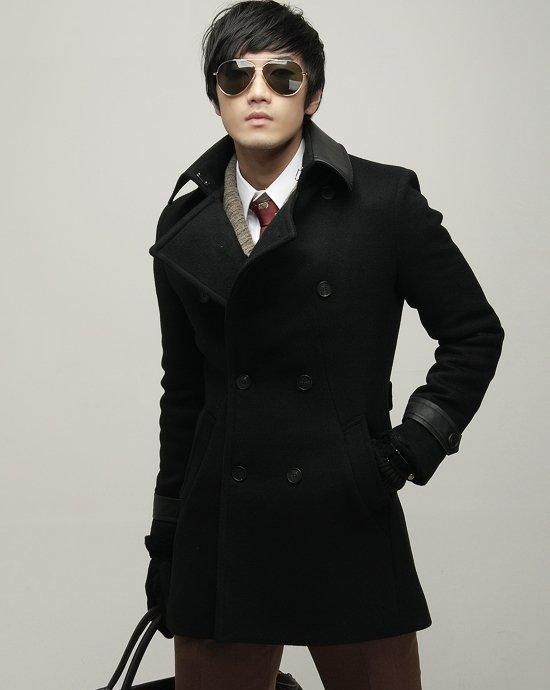 Dior Men's Black Wool Pea Coat | Seduce With Style 3.0 | Pinterest ...