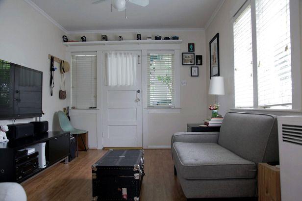 세상사용설명서 :: 젊은 미국 부부의 작은 집 거실 인테리어 ...