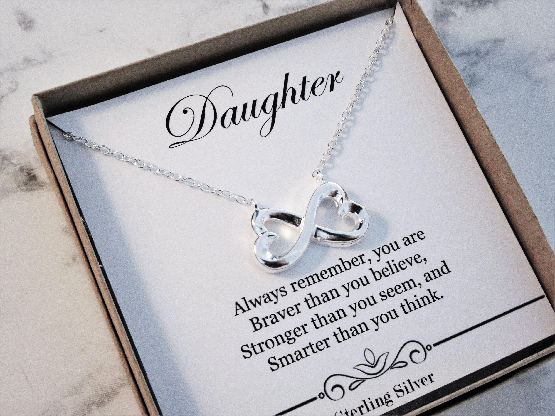 Daughter necklace daughter gift daughter wedding gift