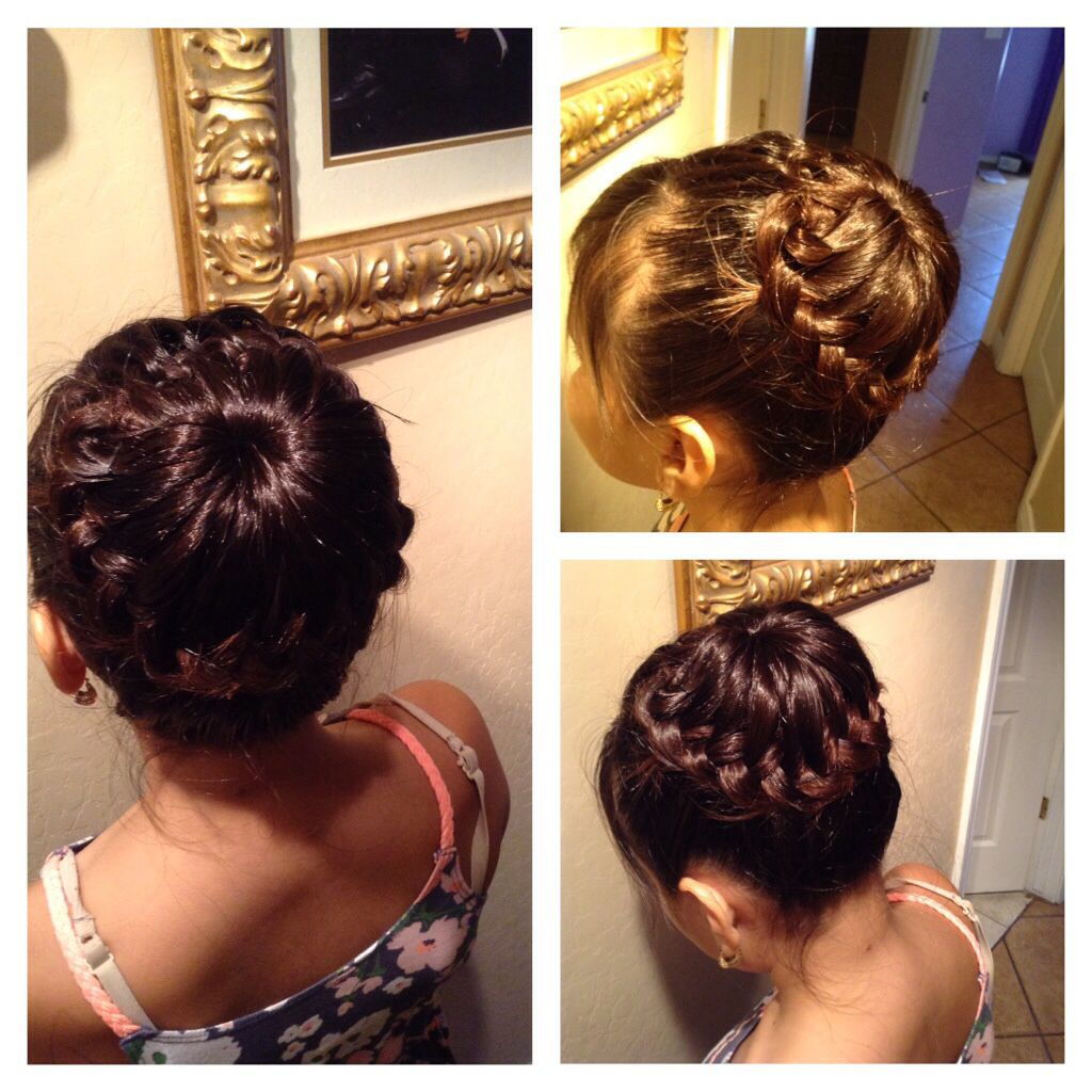 My aunt (Karen Miranda) made me this super cute hair style she is so talented :)