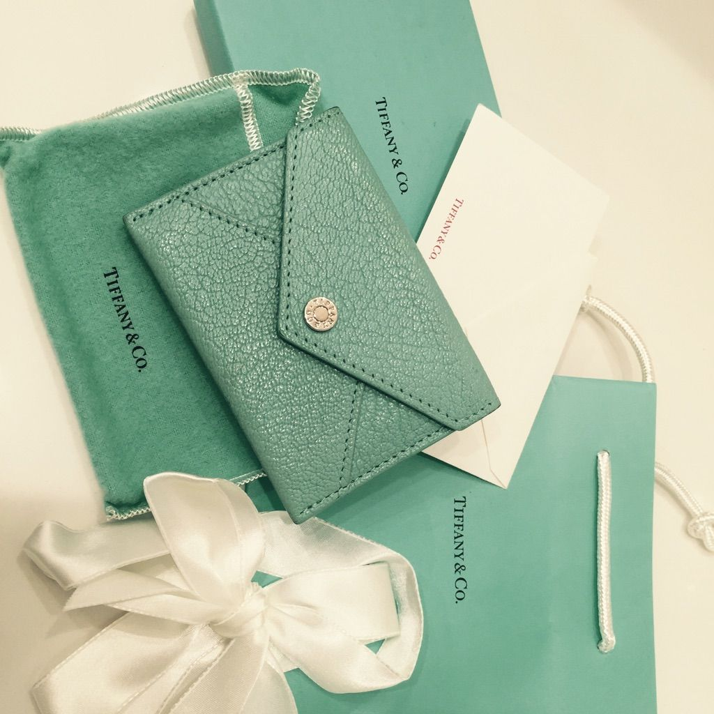 Tiffany & Co Envelope For Business Cards | Tiffany, Business cards ...