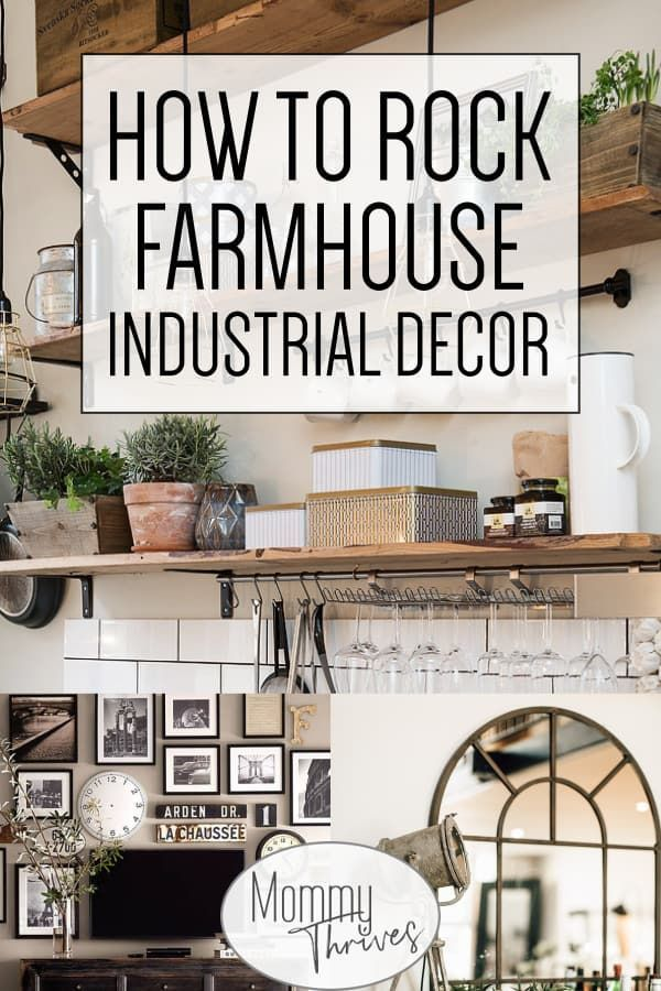 Farmhouse Industrial Decor With A Vintage Cozy Feel Industrial Decor For Industrial Farmhouse Decor Industrial Farmhouse Living Room Industrial Decor Bedroom