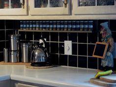 Diy Under Cabinet Spice Rack Redo Kitchen Cabinets Cabinet