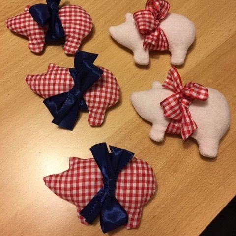 Schweinchen nähen - Gratisanleitung - glutenfreie Rezepte & kreative Ideen #herbstdekobastelnnaturmaterialien
