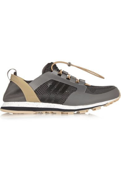 ADIDAS BY STELLA MCCARTNEY Eulampis 2 mesh and rubber sneakers