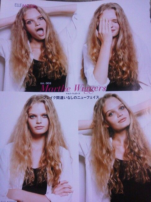Marthe Wiggers. ELLE JAPAN  AUGUST 2012.