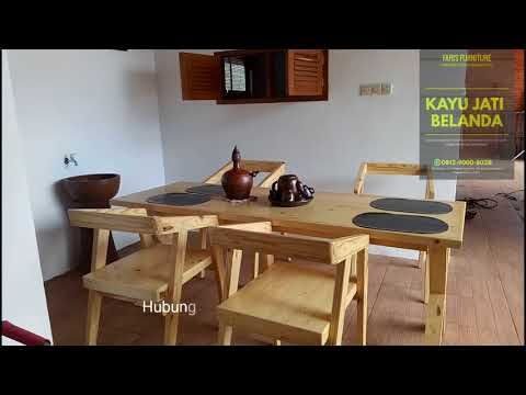 furniture jati belanda 0812-9000-8038 - youtube   mebel