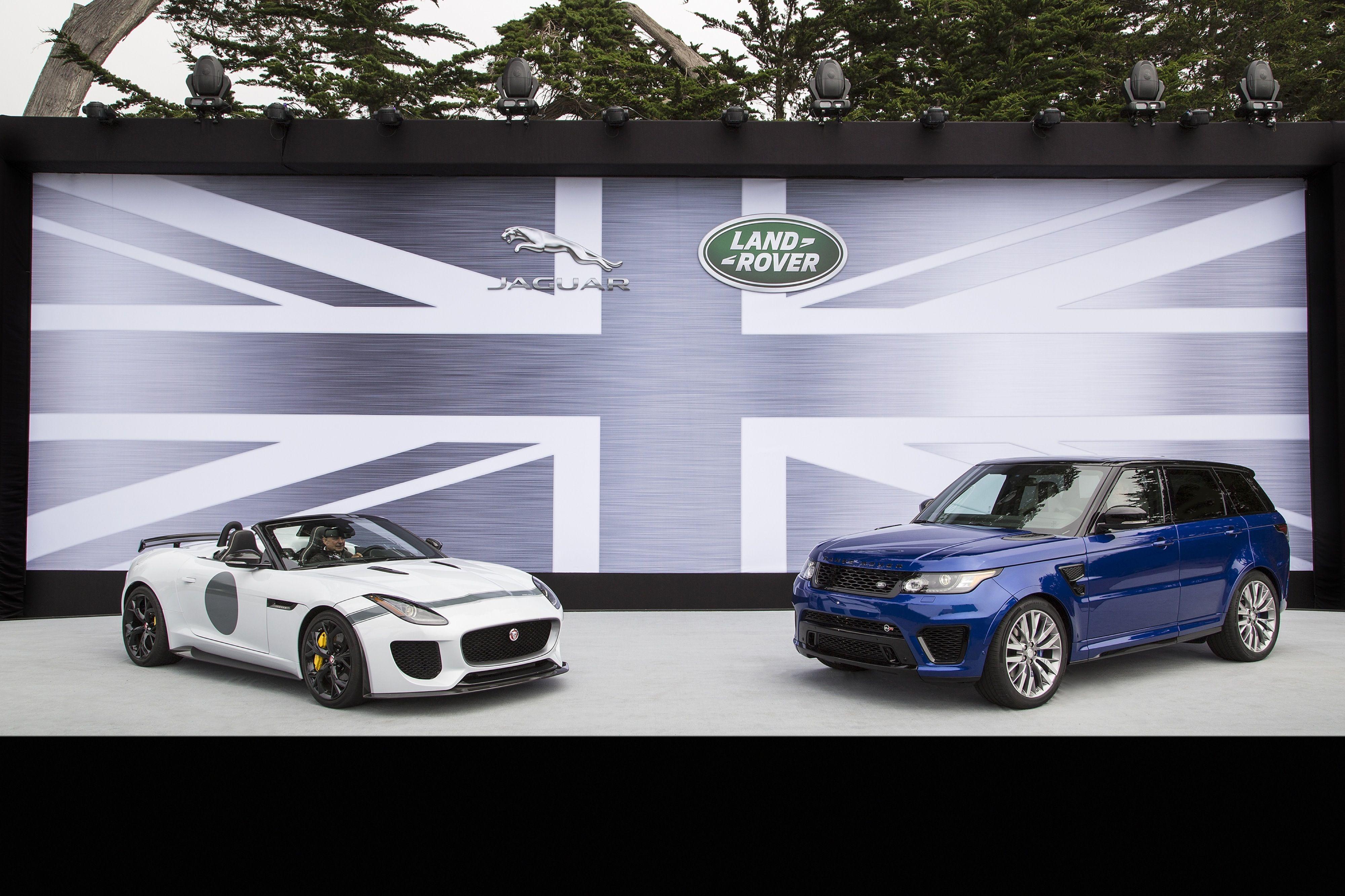 Jaguar and land rover top range will have bmw v8 engines