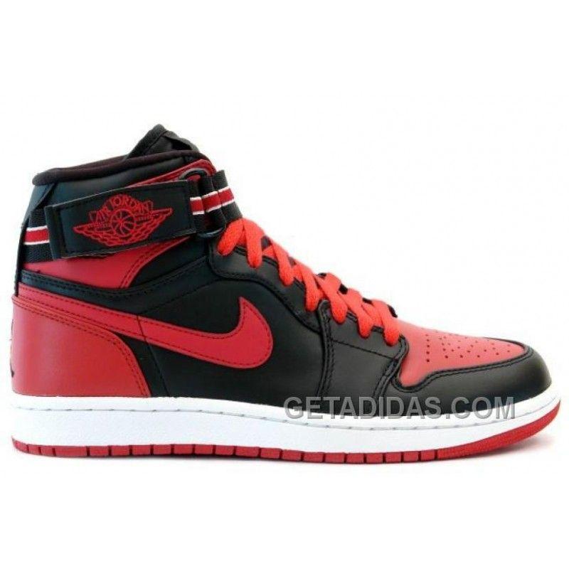 Nike Air Jordan 1 (I) Retro High Strap Black Red Free