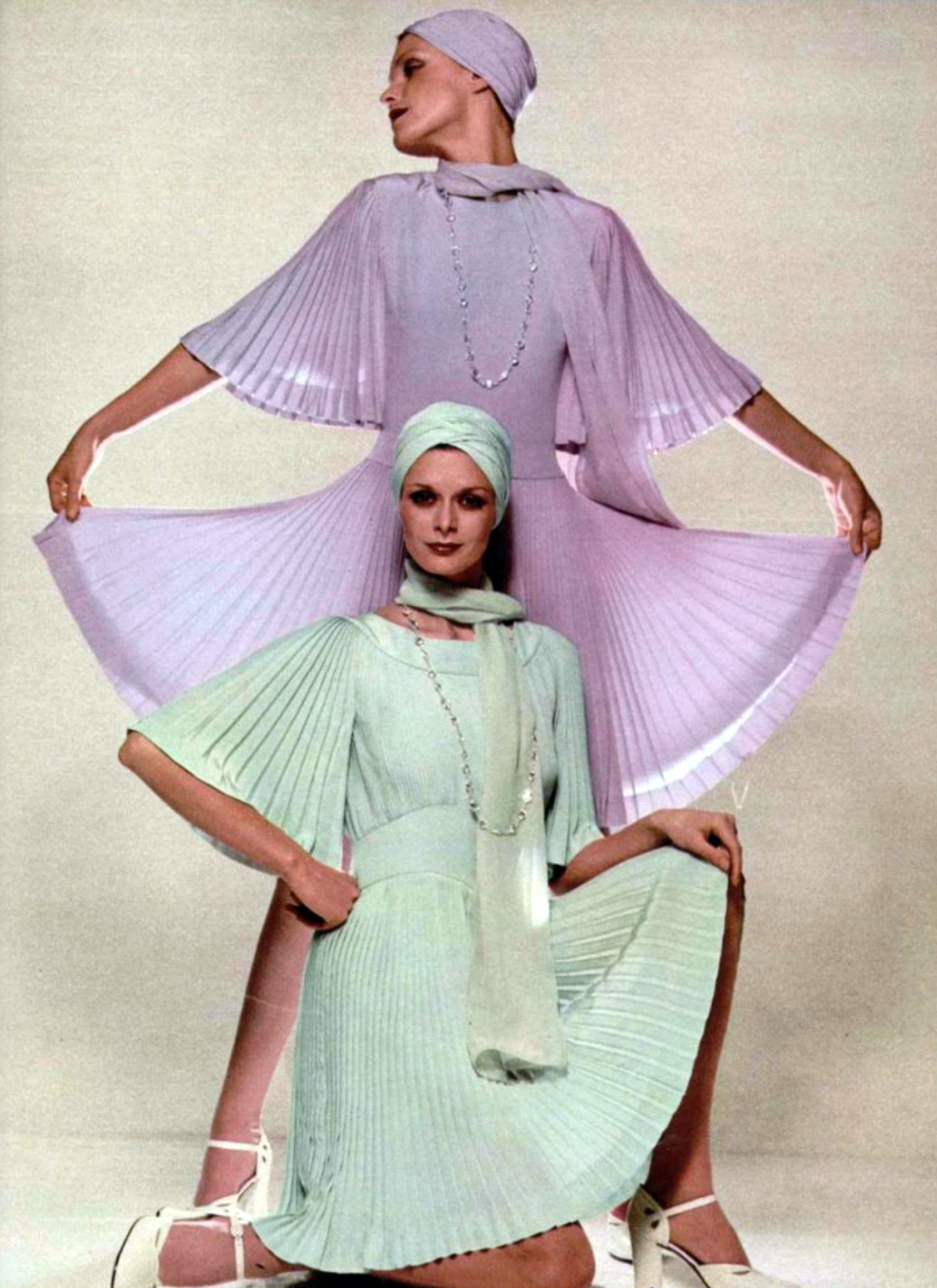 Guy Laroche L'Officiel magazine 1970s