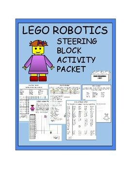 Lego Robotics Activity Packet Robotics Pinterest Lego