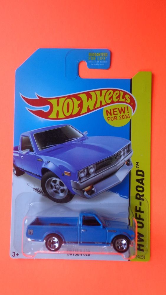 Hot Wheels 2014 Datsun 620 Blue Kmart Exclusive Rare