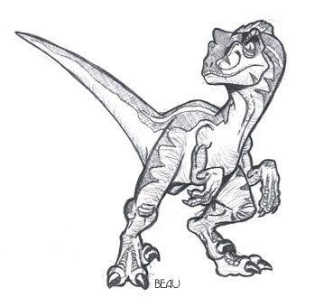 Resultado de imagem para baby velociraptor drawing
