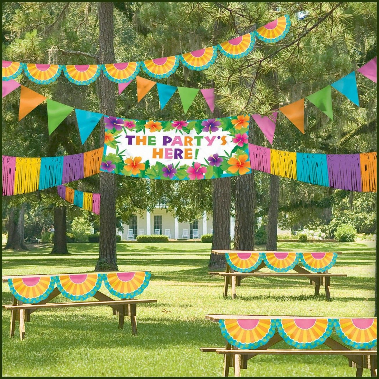 Garden Party | Kids carnival birthday party, Carnival ...