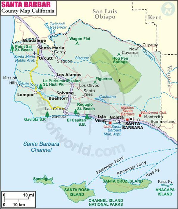 Santa Barbara County Map in 2019 | California map, Santa ... on arroyo grande california map, mckittrick california map, alamitos california map, san bernardo california map, sonoma coast california map, camarillo california map, stevinson california map, loyalton california map, refugio beach california map, ventura california map, morro bay california map, central coast california map, valencia california map, san nicolas island california map, cardiff by the sea california map, mission santa barbara california map, garey california map, buellton ca map, westlake village california map, stockton california map,