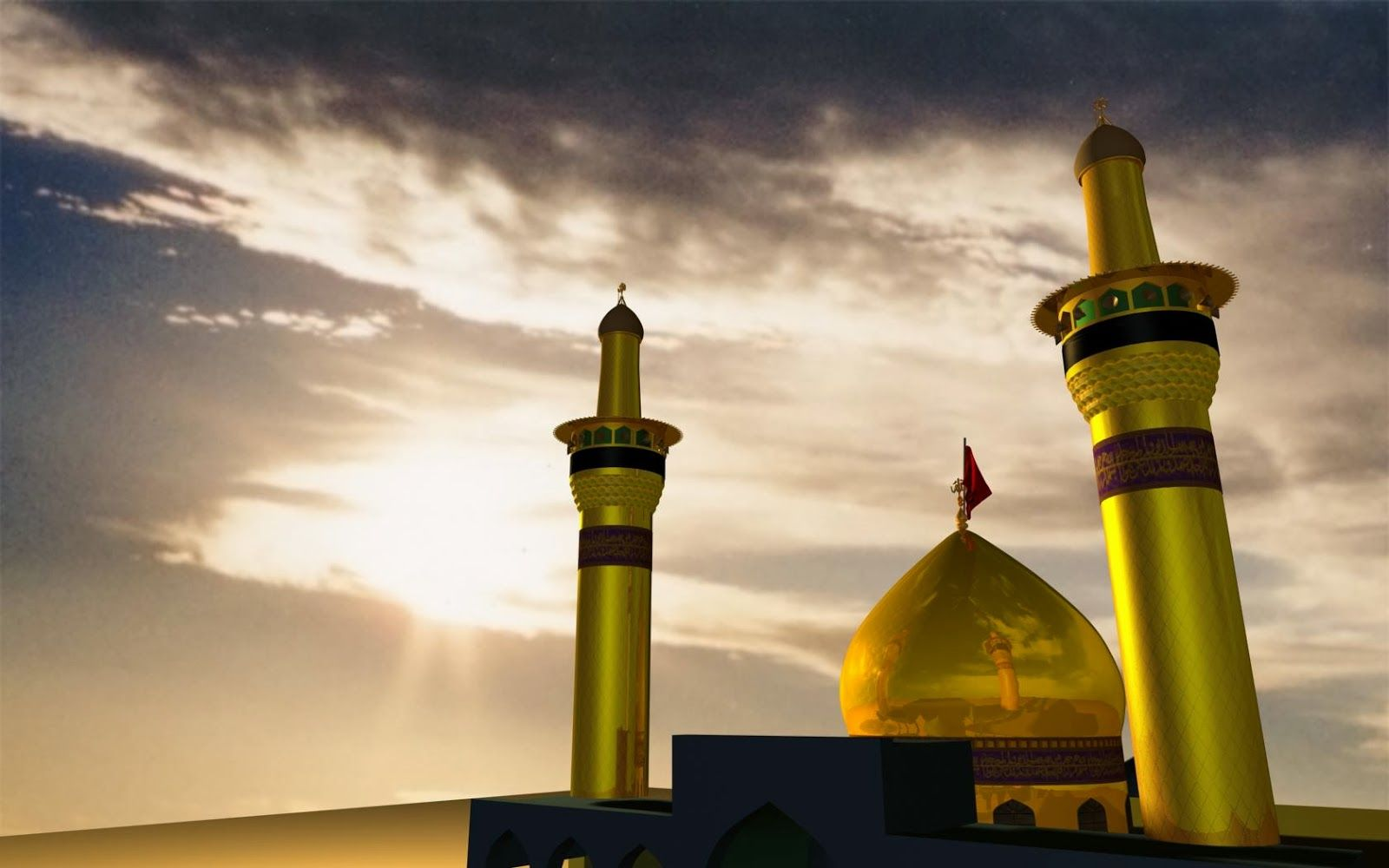 Pictures of holy shrine of imam hussain wallpapers - Imam wallpaper ...