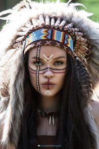 Indianer Shooting · Art AmérindienLes IndiensMaquillageMaquillage