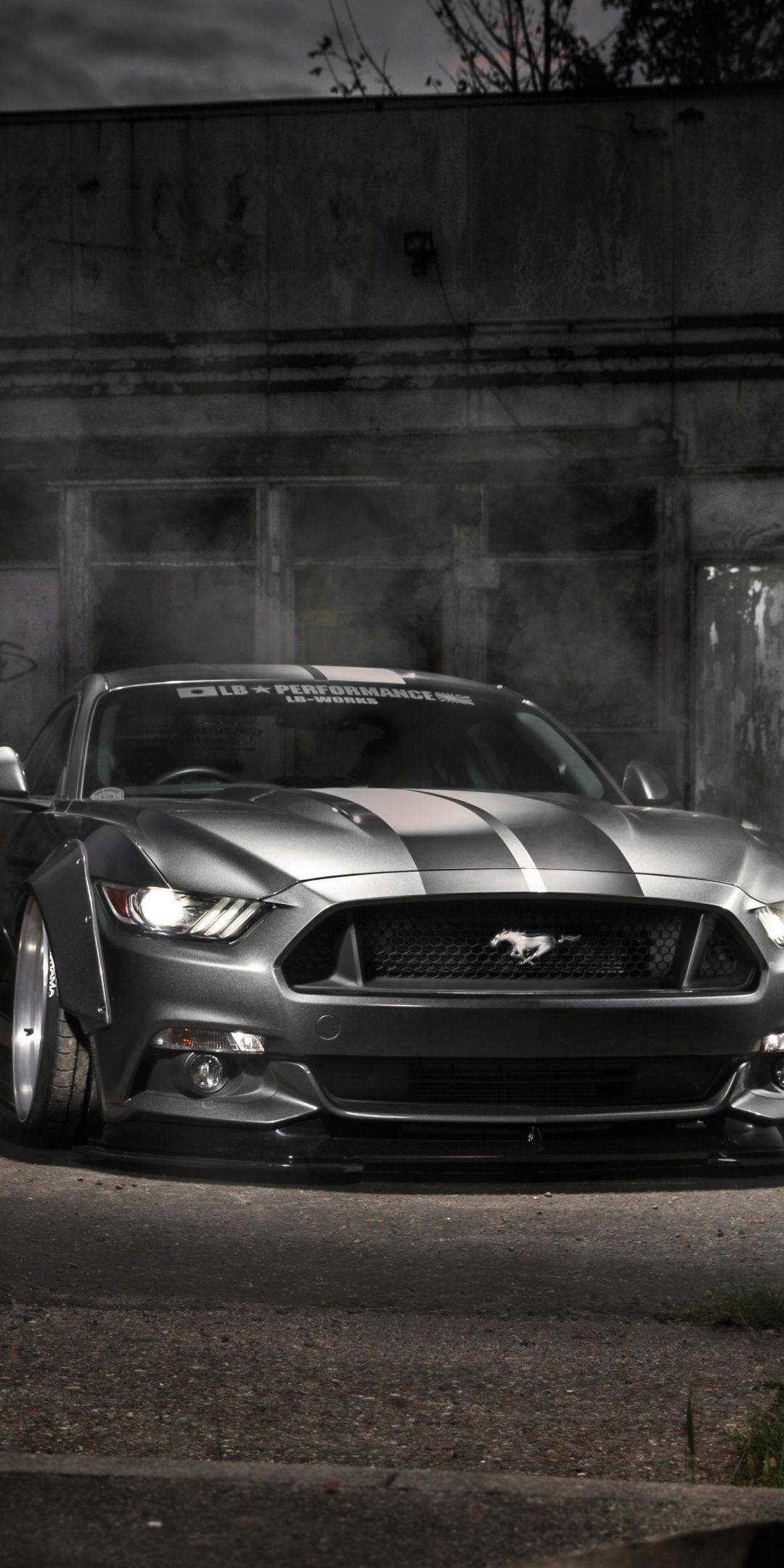 Mustang Ford Silver Muscle Car Wallpaper With Images Mustang
