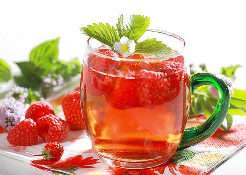 Sparkling Raspberry Tea Recetas De Té Verde Te Rojo Para Adelgazar Remedios Naturales