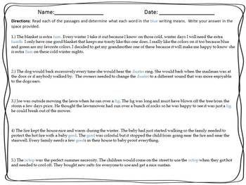 Context Clues Worksheets Advanced Part 1 | Englishlinx.com Board ...