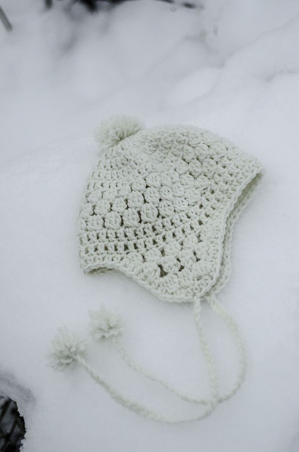 Snowbelle…free pattern crochet hat | Puntadas | Pinterest ...