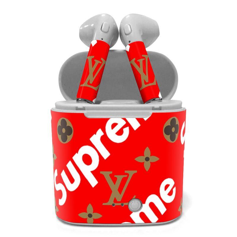 1fc287f5262e Supreme X LV special AirPods Supreme X LV special AirPods in 2019 ...