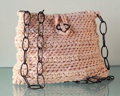 cadena estilo Crochet Bolso en por Etsy con bandolera XXL Gnolo qHHwrEOX