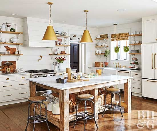 From charming small accents to large expanses designed for