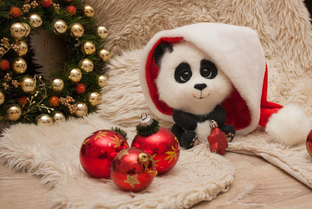 новогодние картинки с пандами мебели подбирается учетом