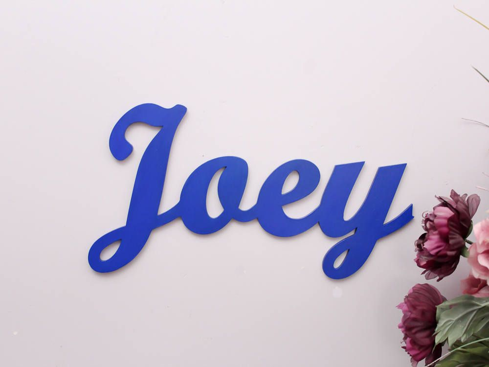 Large Wooden Letters, Personalized Wall Letters, Baby Name Decor ...