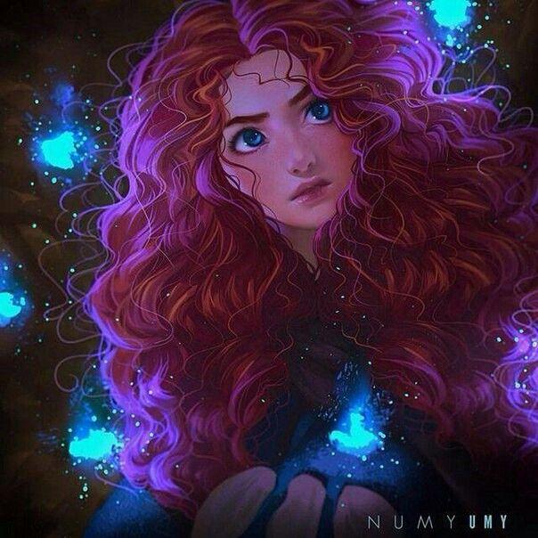 Pin De Kaylla Araujo Em Valente Disney Fan Art Arte Da Disney
