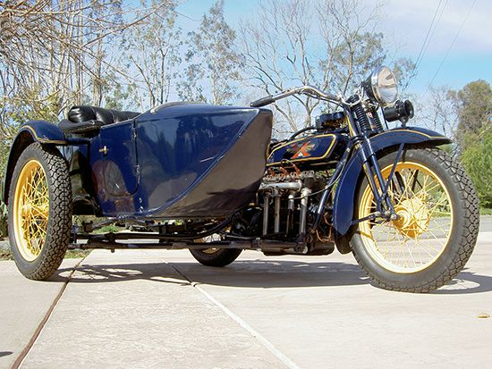 1928 Henderson DeLuxe Four Cylinder | Inspiration cycles