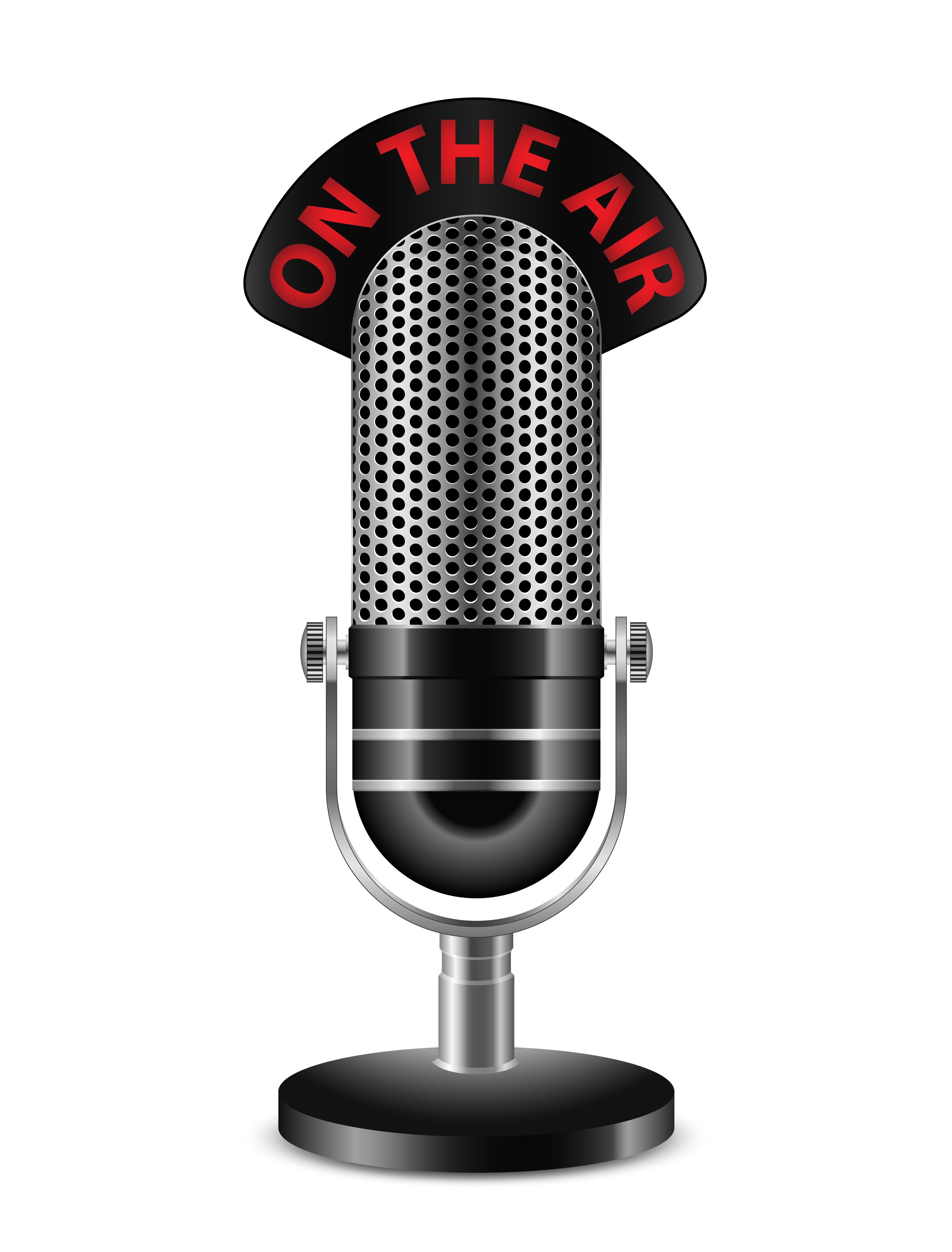Radio Microphone Png Microphone Illustration Artwork Drawing Stock Images