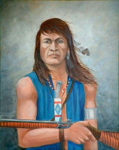 Shawnee portraits Total population: 14,000 (7,584 enrolled ...