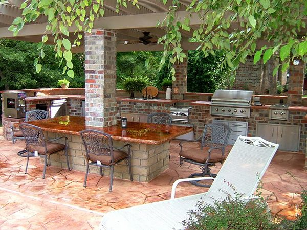 Outdoor kitchens on a budget images outdoor kitchens for Outdoor living ideas on a budget