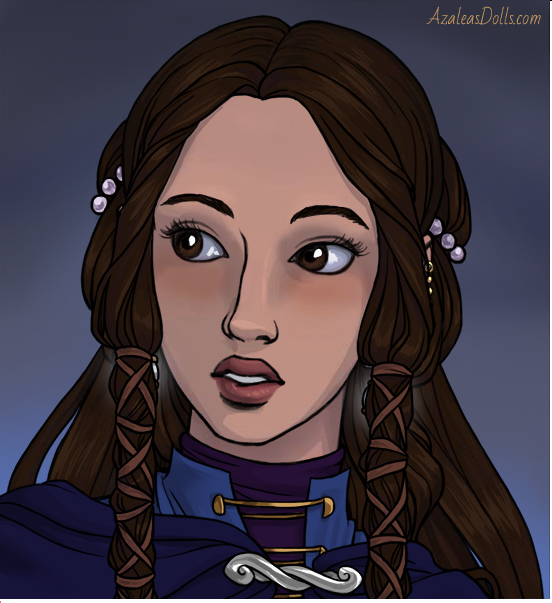 Once again, I made this with the awesome Elven Portrait